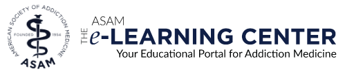The ASAM e-Learning Center